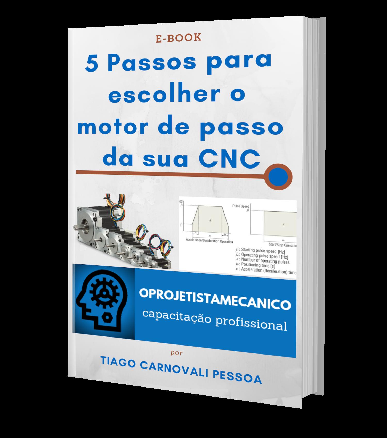 5 passos para escolher o motor de passo da sua CNC